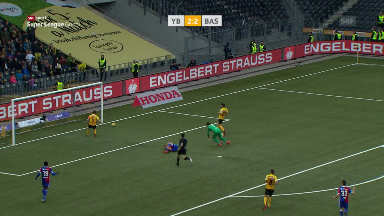 YB und Basel trennen sich spektakulär mit 2:2