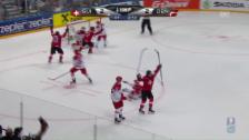 Video «Eric Blum erzielt das Siegestor gegen Dänemark» abspielen