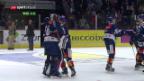 Video «ZSC gewinnt Derby dank Shutout» abspielen
