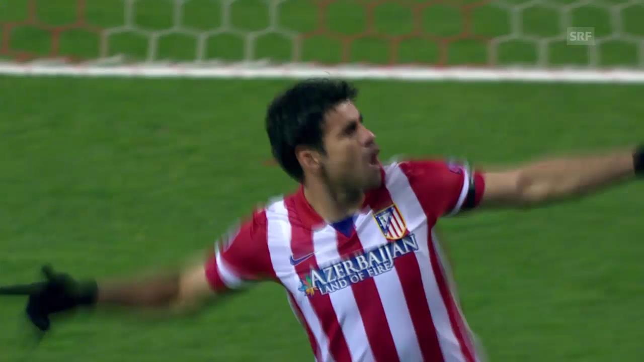 Die Tore von Diego Costa gegen Milan (unkommentiert)