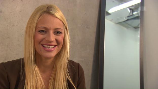 Video «Gerührt: Christa Rigozzi ist schwanger» abspielen