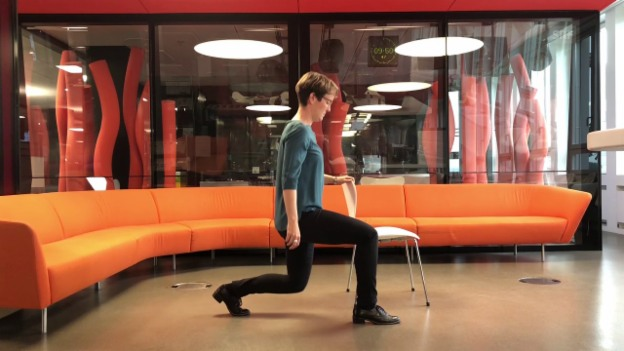 Video «Übungen bei Arthrose in den Knien und Hüfte» abspielen