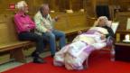 Video «Reformierter Pfarrer im Hungerstreik» abspielen