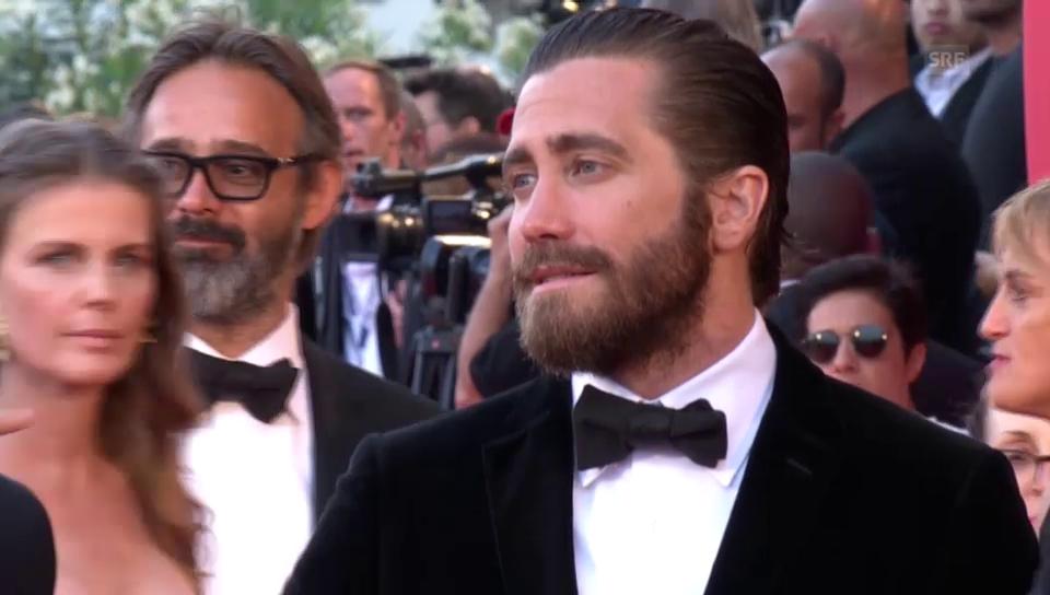 Jake Gyllenhaal kommt in Venedig an (unkommentiert)