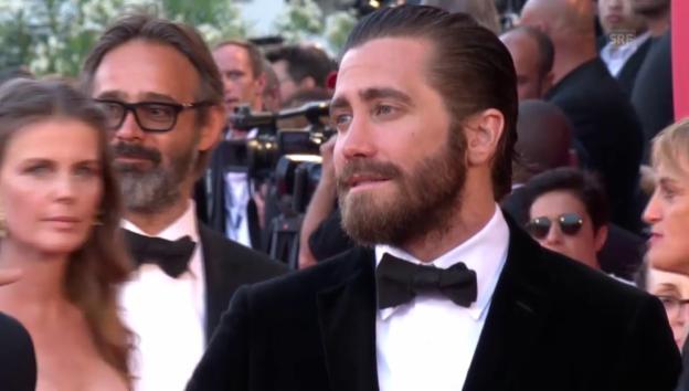 Video «Jake Gyllenhaal kommt in Venedig an (unkommentiert)» abspielen