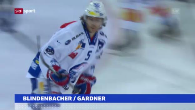 Video «Lions ohne Blindenbacher, SCB mit Gardner» abspielen