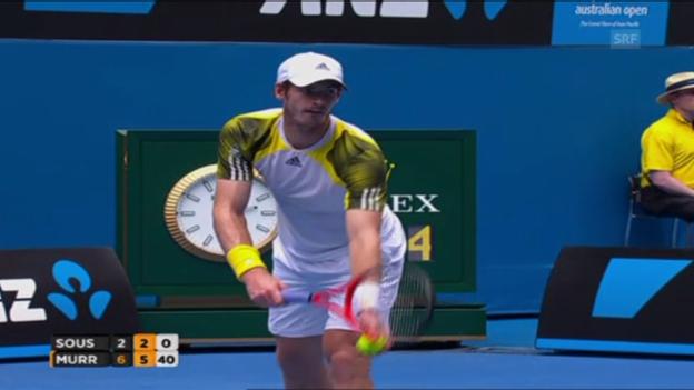 Video «Satz- und Matchball von Andy Murray» abspielen