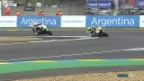 Video «Pole Position für Lüthi in Le Mans» abspielen