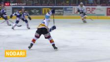 Video «Eishockey: Matteo Nodari wechselt zu Lausanne» abspielen