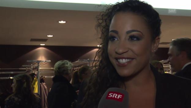 Video «Fabienne Louves schwärmt von Freund Luca» abspielen
