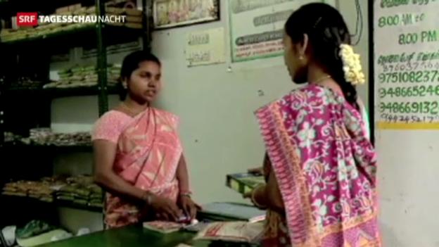 Video «Indien sagt dem Hunger den Kampf an» abspielen