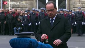 Video «Trauerfeier in Paris» abspielen
