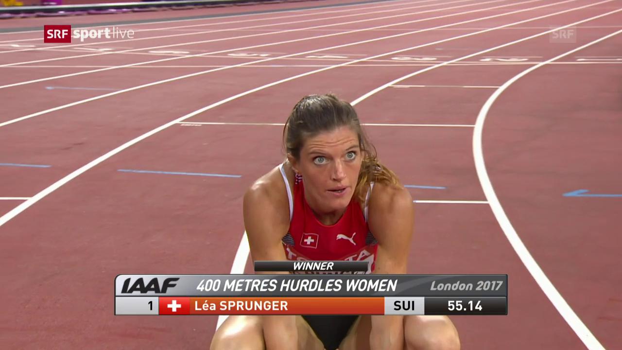 Der Lauf von Léa Sprunger