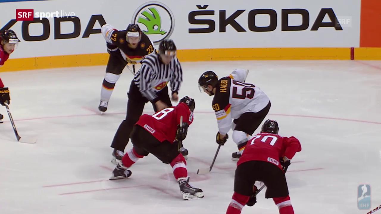 Eishockey: WM, Zusammenfassung Schweiz - Deutschland