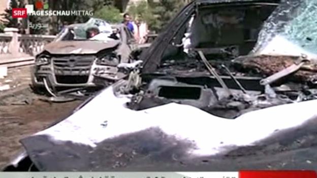 Video «Anschlag auf syrischen Premierminister» abspielen