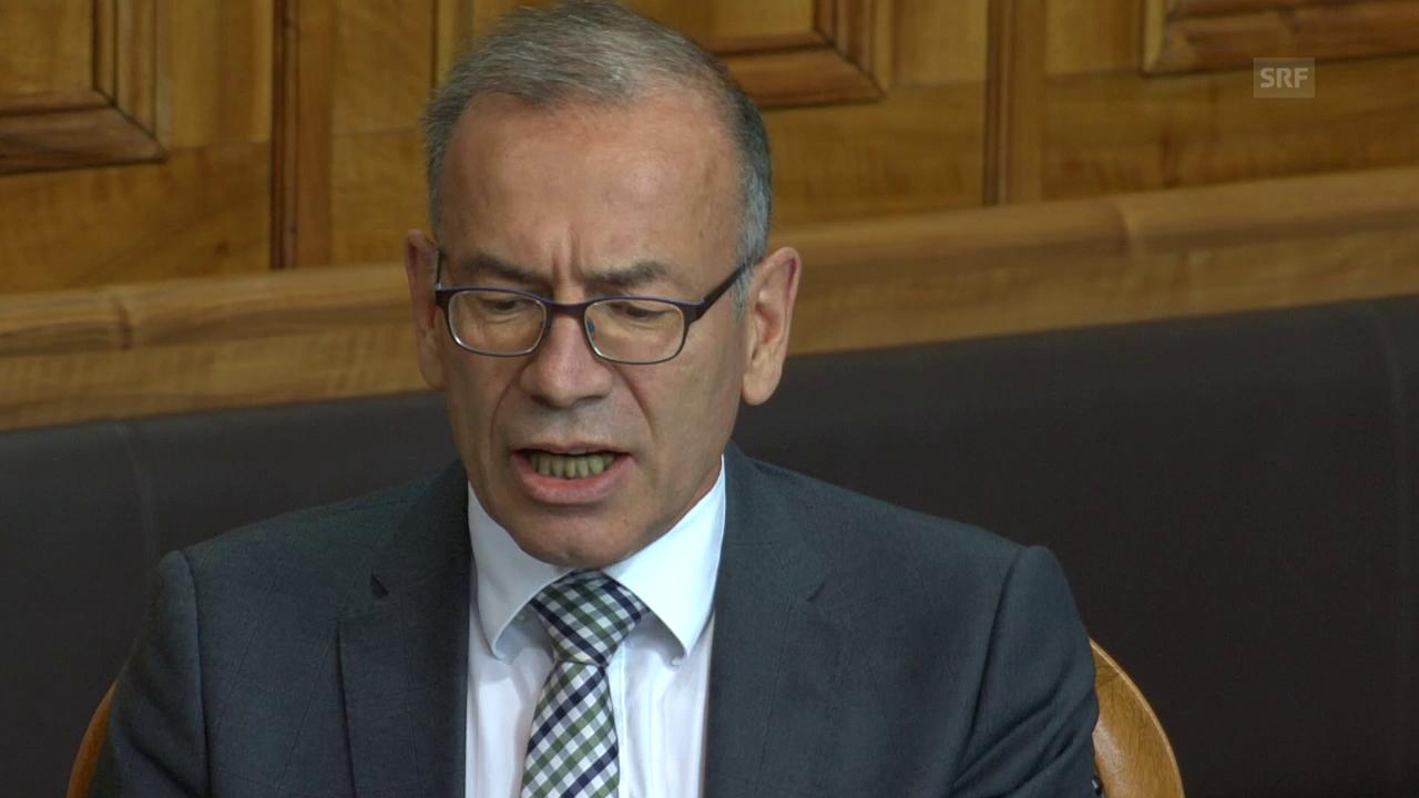 Hannes Germann kritisiert die Kommission