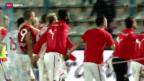 Video «Fussball: Der Weg der Nati nach Brasilien» abspielen