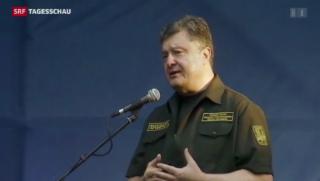 Video «Fragile Waffenruhe in der Ukraine» abspielen