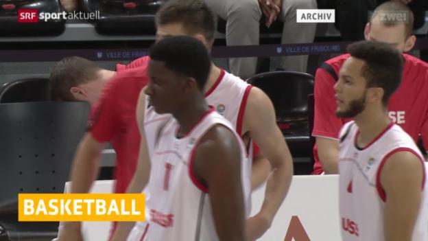 Video «Basketball: Schweiz verliert in Russland» abspielen