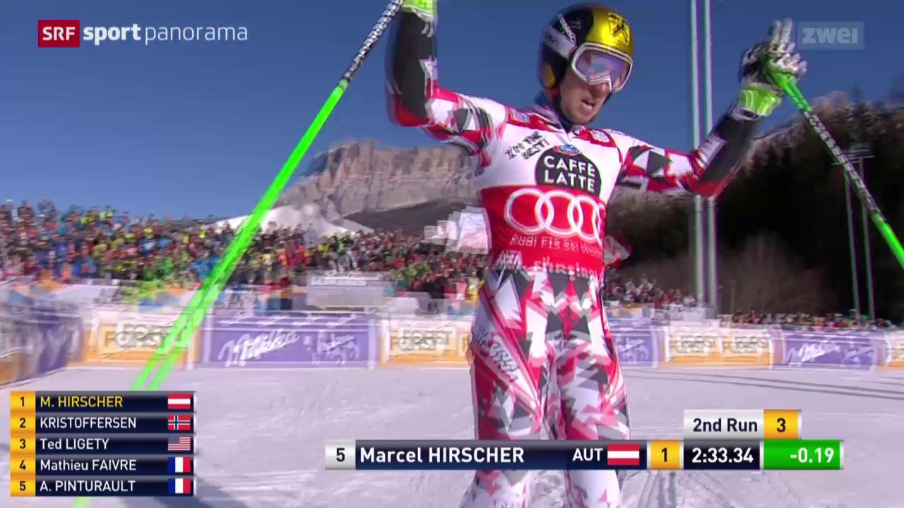 Ski: Riesenslalom der Männer in Alta Badia