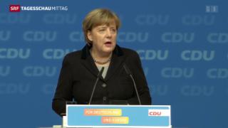 Video «Merkel gibt CDU-Druck nach» abspielen