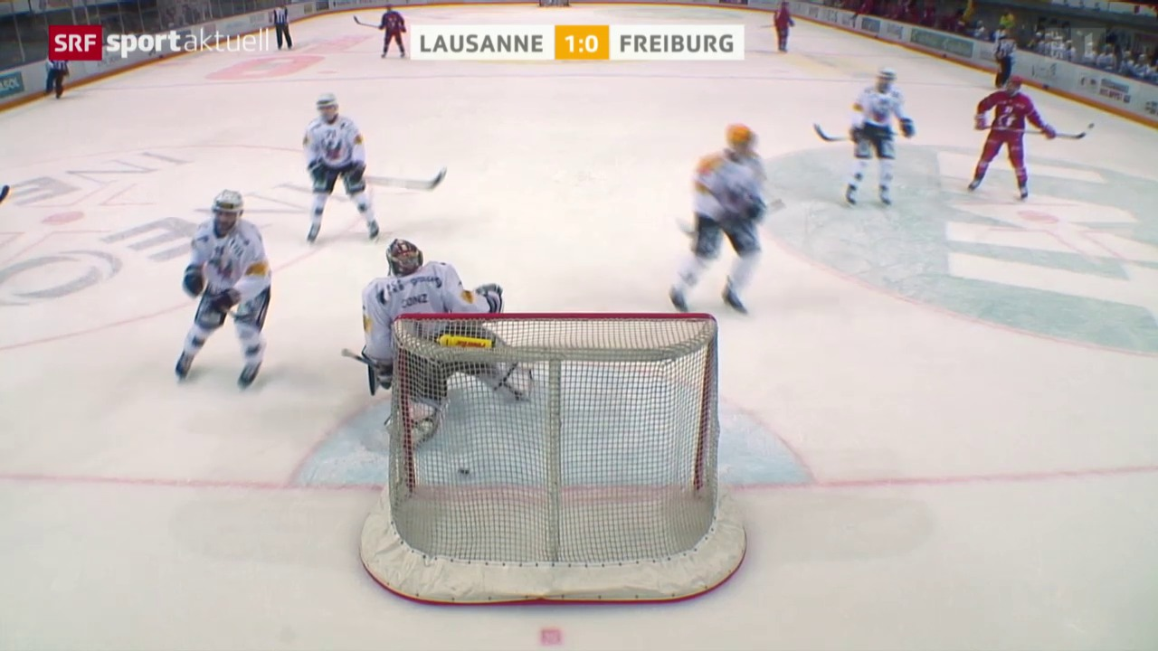 Eishockey: NLA, Lausanne-Freiburg