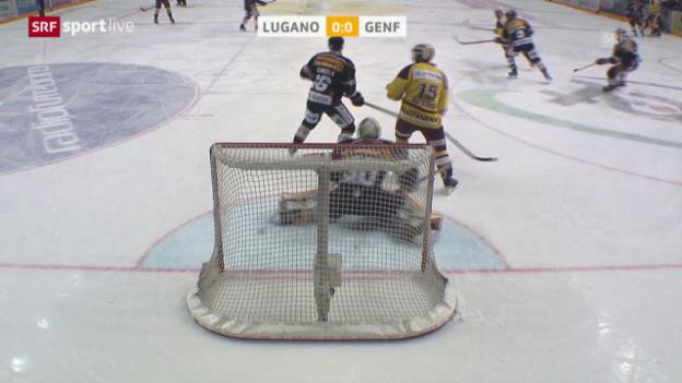 Video «Zusammenfassung Lugano - Genf-Servette» abspielen