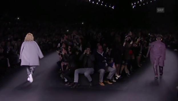 Video «Ben Stiller und Owen Wilson an der Valentino-Show» abspielen