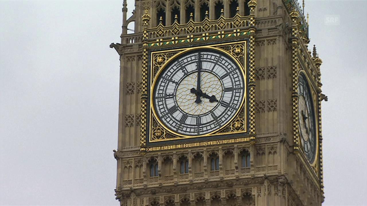 Bis am 21. August darf der Big Ben noch läuten