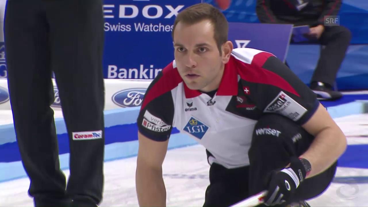 Schweizer Curler mit starkem 4. End gegen Deutschland