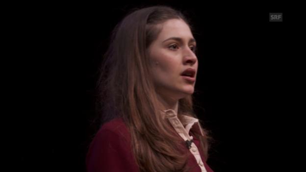 Video «Aus dem Theater «Das Tagebuch der Anne Frank»» abspielen
