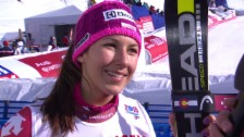Video «Ski: Interview mit Wendy Holdener» abspielen