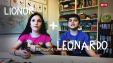 Laschar ir video «Leonardo e Lionor»