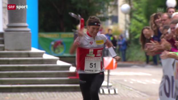 Video «OL: Niggli siegt in Baden («sportaktuell»)» abspielen