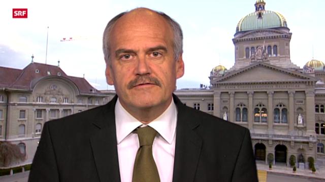 Einschätzungen von SRF-Bundeshausredaktor Hanspeter Forster zum neuen KK-Verband