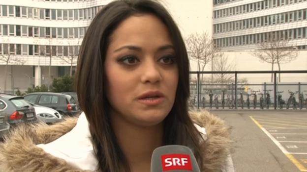 Video «Alina Buchschacher über ihren Miss-Schweiz-Verdienst» abspielen
