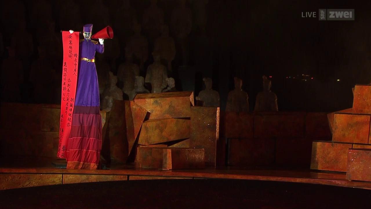 Turandot in Bregenz - vor und hinter den Kulissen eines Operndramas