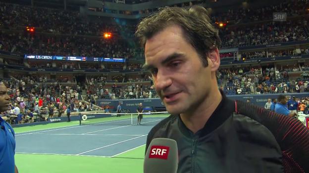 Video «Federer: «Musste mir das ‹Fudi› massieren lassen.»» abspielen