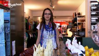 Video «Berufsbild: Detailhandelsfachfrau EFZ Textil » abspielen