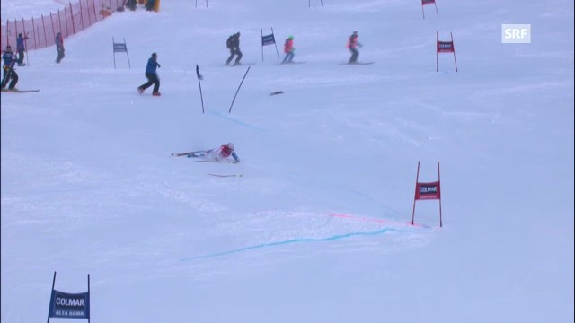Ski alpin: 1. Lauf von Didier Défago in Alta Badia