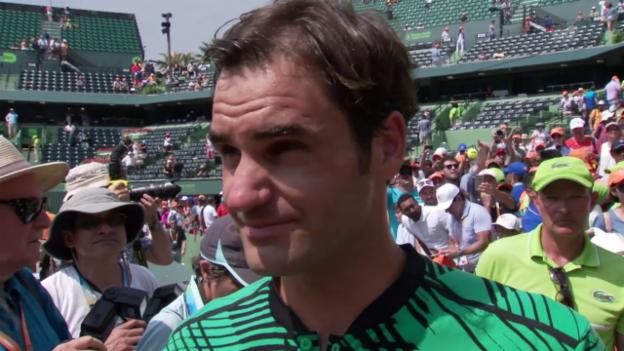 Video «Federer: «Habe eine gute Balance gefunden»» abspielen