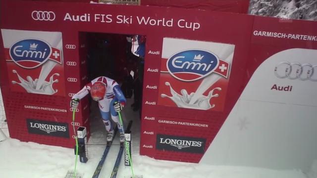 Ski alpin: Abfahrt Garmisch, Fahrt Patrick Küng
