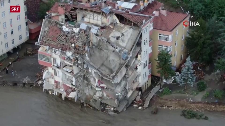 Aus dem Archiv: Kastamonu wird von Überschwemmungen heimgesucht.