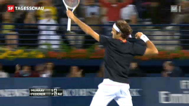 Er kann's noch immer: Federer siegt in Dubai