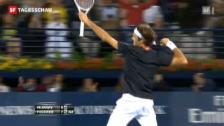 Video «Er kann's noch immer: Federer siegt in Dubai» abspielen