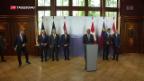 Video «Rahmenabkommen Thema am «Sechsertreffen»» abspielen