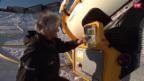 Video Der Schneemacher von Savognin abspielen.