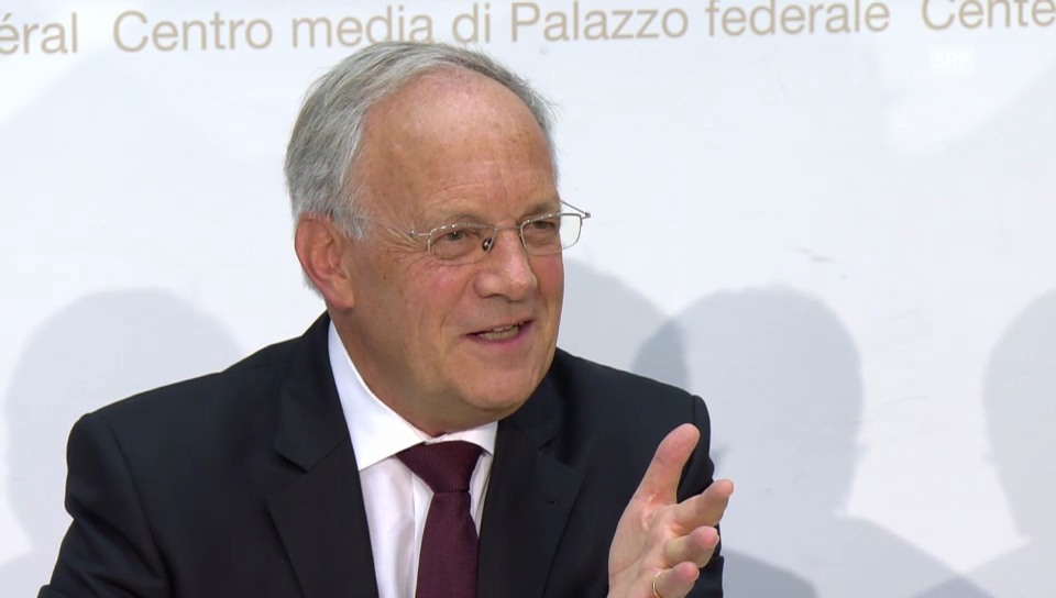 Bundesrat Schneider-Ammann: «100 Prozent Selbstversorgung nicht möglich»
