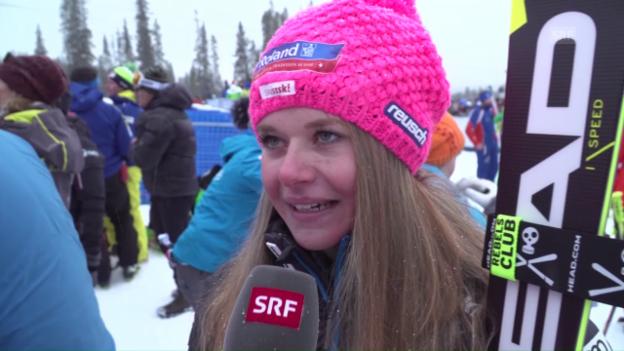Video «Corinne Suter: «Der 4. Platz gibt Selbstvertrauen»» abspielen