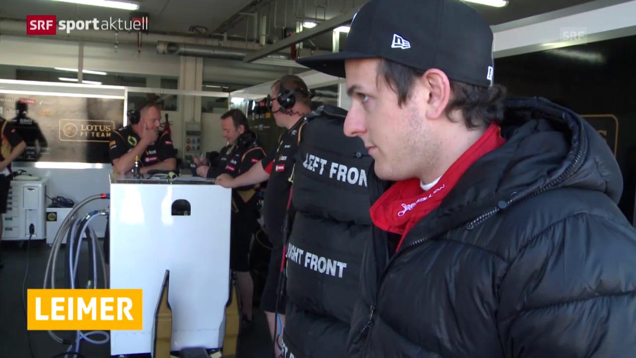 Formel 1: Neuer Job für Fabio Leimer
